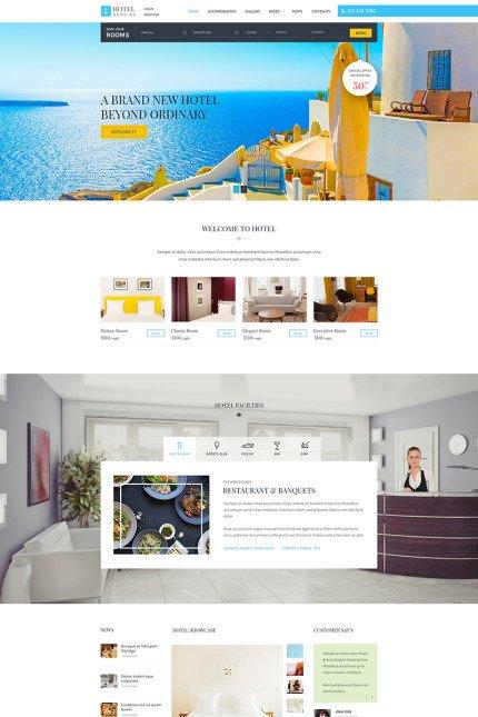 Criação de Sites para Hotéis Completos