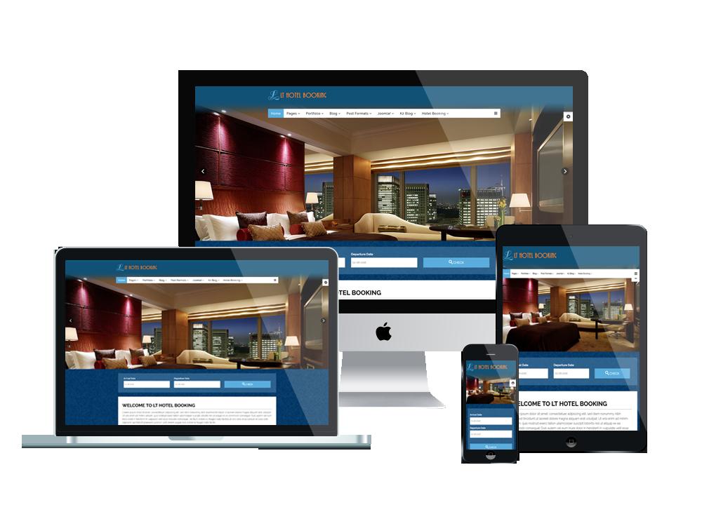 Criação de Sites para Hotéis com Design Responsivo
