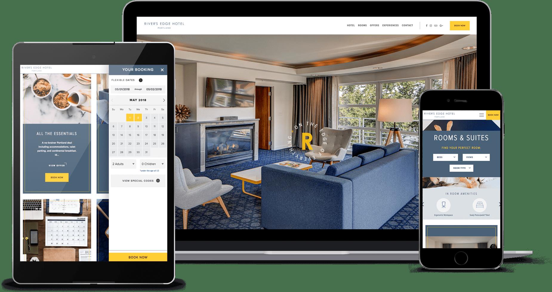 Criação de Sites para Hotéis