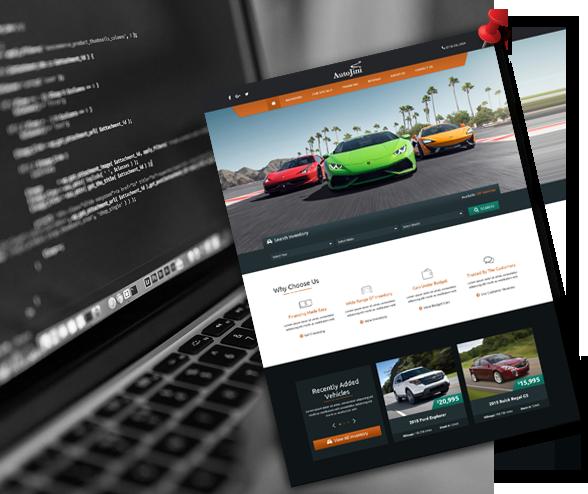 Criação de Sites para Stands Automóveis Personalizados