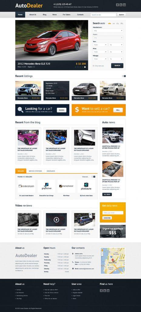 Vantagens da Criação de Sites para Stands Automóveis