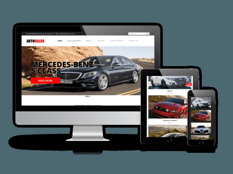 Criação de Sites para Stands Automóveis